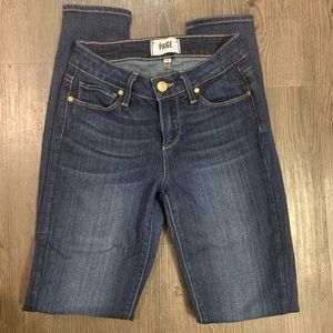 Paige Skinny Ankle Jeans Size 25